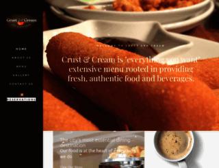 crustandcream.com screenshot