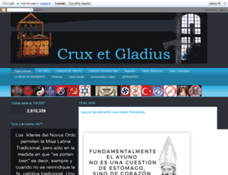 cruxetgladius.blogspot.it screenshot