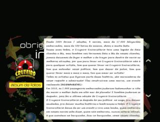 cruzeirouniversitario.com.br screenshot