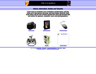 cryosphere.co.uk screenshot