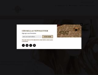 crysellas.com screenshot