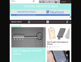 crystal-report.com screenshot