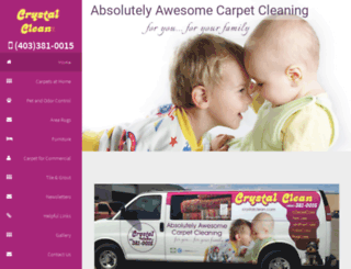 crystalclean.com screenshot
