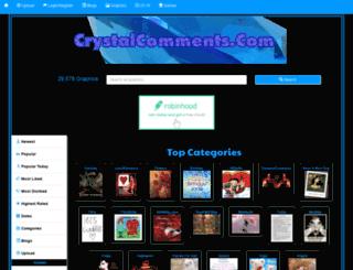 crystalcomments.com screenshot