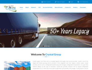 crystalgroup.in screenshot