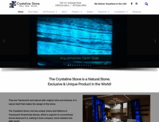 crystalinestone.com screenshot