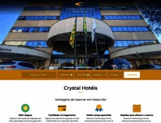 crystalplazahotel.com.br screenshot