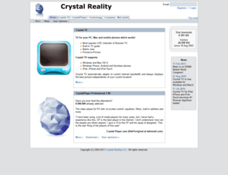 crystalreality.com screenshot