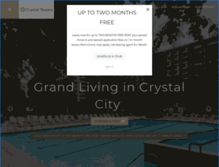 crystaltowersapartments.com screenshot