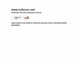 crzforum.com screenshot