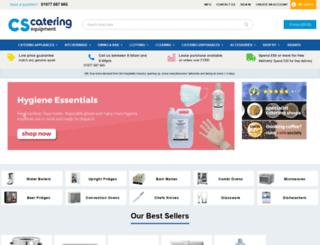 cs-catering-equipment.co.uk screenshot