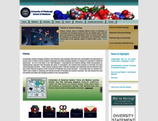 csb.pitt.edu screenshot