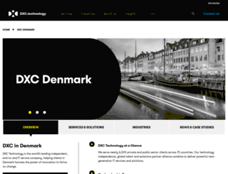 csc.dk screenshot
