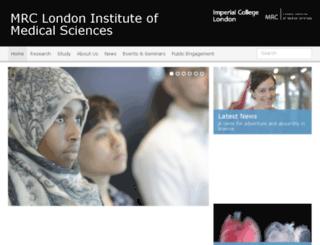 csc.mrc.ac.uk screenshot