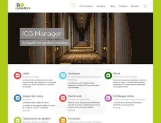 csconsultors.com screenshot