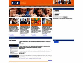 cse.edu.au screenshot