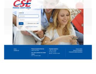 csefcu.mycardinfo.com screenshot
