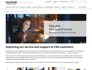csg.com.au screenshot