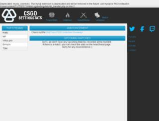 csgobettingstats.com screenshot