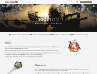 csgoloot.com screenshot