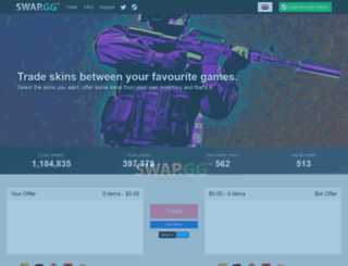 csgoswap.com screenshot