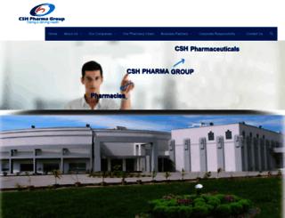 cshpharmagroup.com screenshot