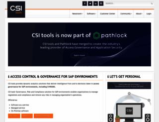 csi-tools.com screenshot