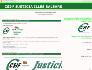 csifjusticiabaleares.blogspot.com screenshot