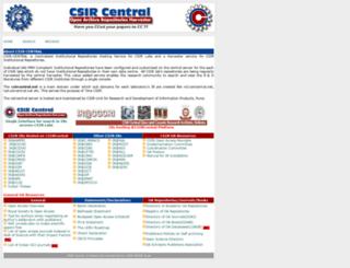 csircentral.net screenshot