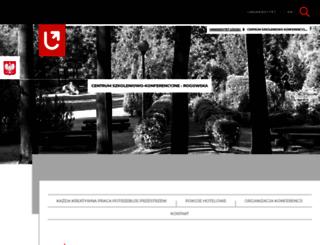 csk.uni.lodz.pl screenshot