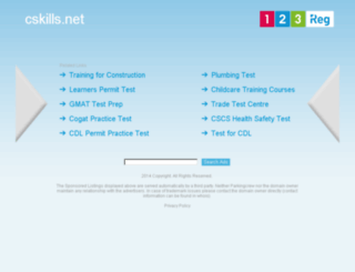cskills.net screenshot