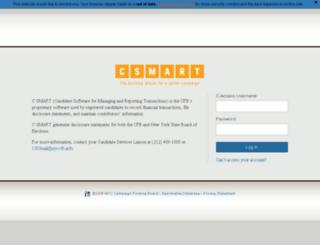csmart.nyccfb.info screenshot