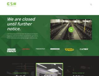 csmfitness.com screenshot