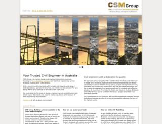 csmgroup.net.au screenshot