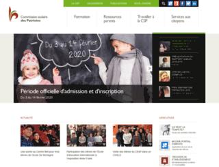 csp.qc.ca screenshot