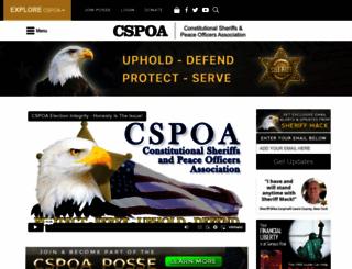 cspoa.org screenshot