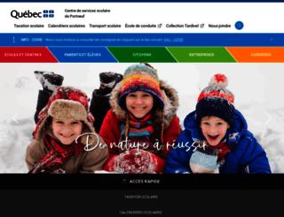 csportneuf.qc.ca screenshot