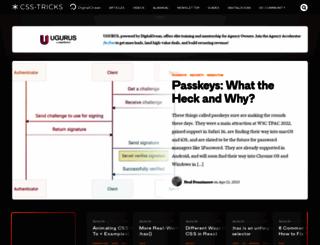 css-tricks.com screenshot