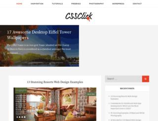 cssclick.com screenshot