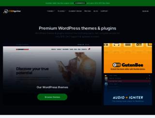 cssigniter.com screenshot