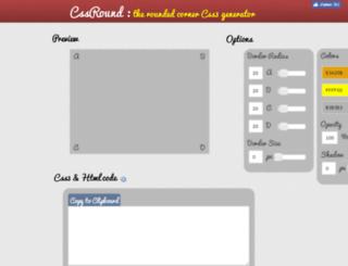 cssround.com screenshot