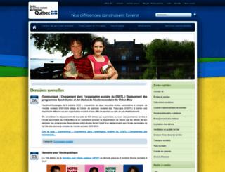 cstrois-lacs.qc.ca screenshot