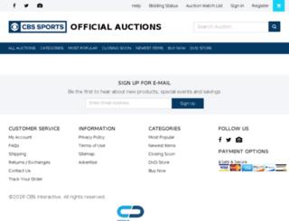 cstvauctions.com screenshot