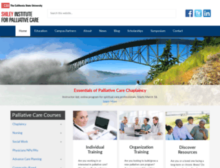 csupalliativecare.org screenshot