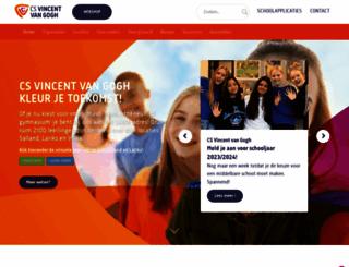 csvincentvangogh.nl screenshot