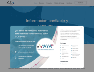 csweb.com.mx screenshot