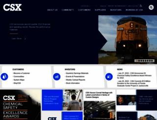 csx.com screenshot