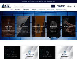 ctccommunications.com.au screenshot
