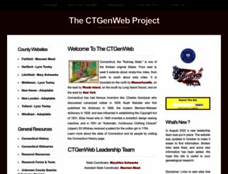 ctgenweb.org screenshot