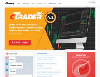 ctrader.com screenshot